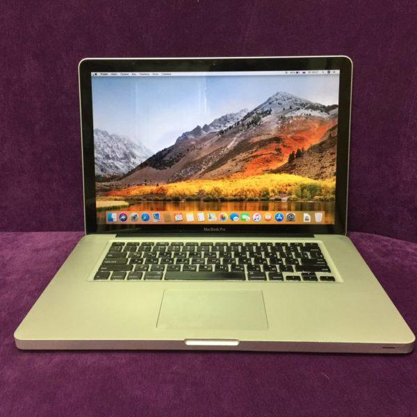 Apple MacBook Pro 15 Early 2011 [Amd Radeon 6490m] (15 циклов)