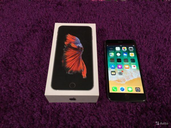 Apple IPhone 6s Plus 64gb SpaceGray[RU/A] (арт.12411)