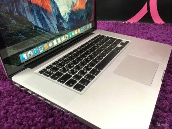 Apple MacBookPro 15″ Mid 2009[304 цикла] (арт.12344)