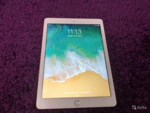 Apple IPad 2018 128gb Wi-Fi Gold (арт.13444)