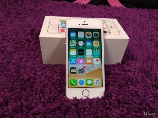 Apple IPhone 5s 16gb Silver (арт.13965)