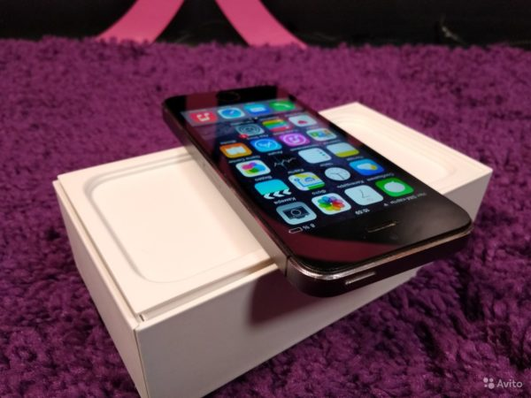 Apple IPhone 5s 16gb Space Gray (арт.13966)