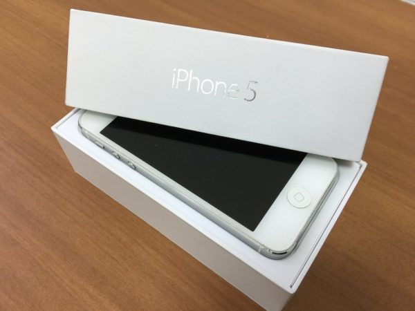 Apple Iphone 5 16gb Silver (арт.14382)