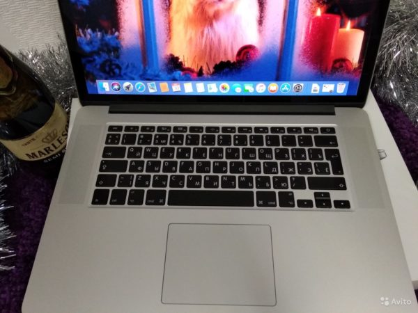 Apple Pro 15 Mid 2015 [Intel Iris Pro] (арт.15445)