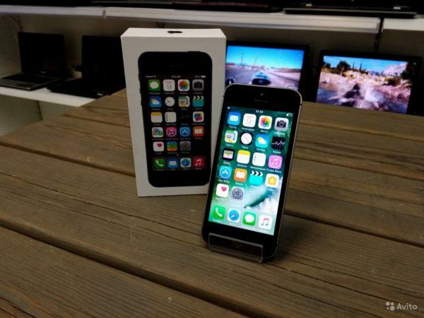 Apple Iphone 5s 16gb Space Gray (арт.15620)