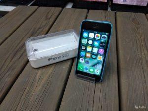 Apple Iphone 5c 16gb Blue (арт.15726)