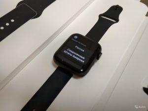 Apple WATCH SERIES 4 (GPS) ALUM 40MM (арт.15568)