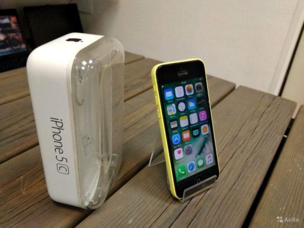Apple Iphone 5c 16gb Yellow (арт.15610)