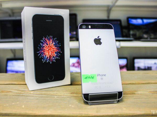 Apple IPhone SE 16gb Space Gray (арт.15626)