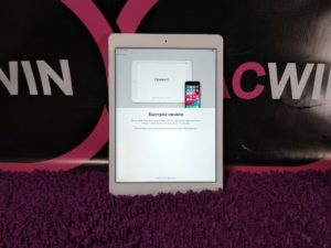 Apple IPad Air 64gb WiFi+4G Silver (арт.13283)