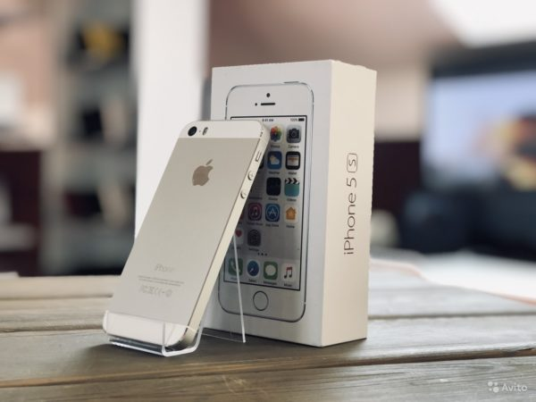 Apple Iphone 5s 16gb Silver (арт.19838)