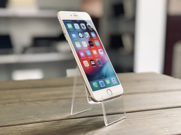 Apple IPhone 6s Plus 128gb Gold (арт.19880)