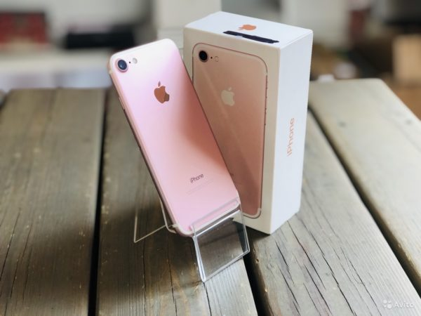 Apple IPhone 7 32gb Rose Gold (арт.19853)