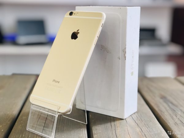 Apple Iphone 6 Plus 16g Gold (арт.19784)