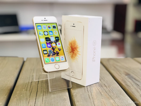 Apple IPhone SE 16gb Gold (арт.19921)