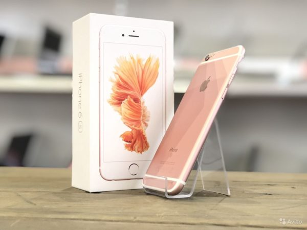 Apple IPhone 6s 32gb Rose Gold (арт.20332)