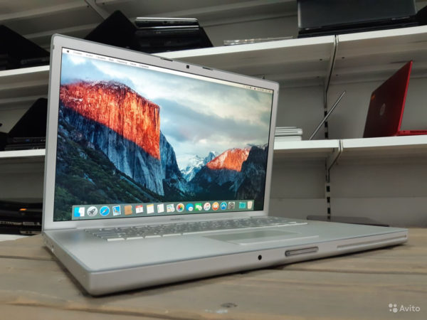 Apple Macbook Pro 15 Early 2008