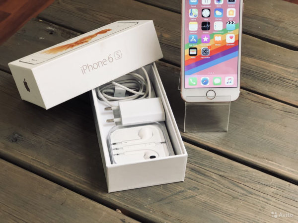 Apple IPhone 6s 64gb RoseGold (арт.20392)