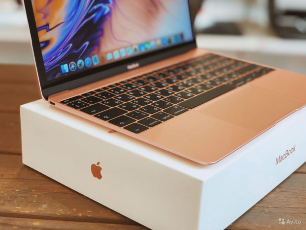 Apple MacBook 12inch 2017 Rose Gold (арт.20678)
