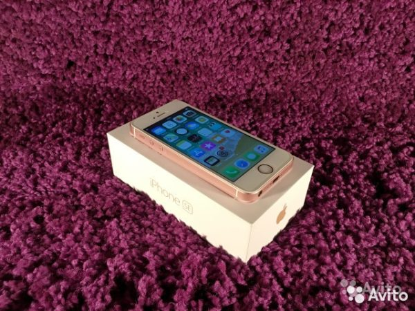 Apple IPhone SE 32gb RoseGold (арт.21342)