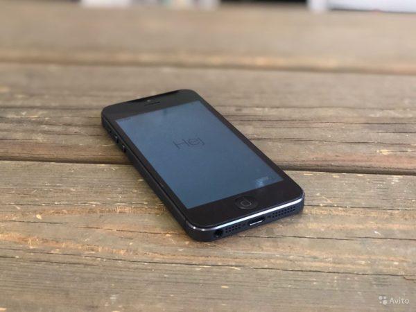 Apple IPhone 5 32gb Black (арт.21805)