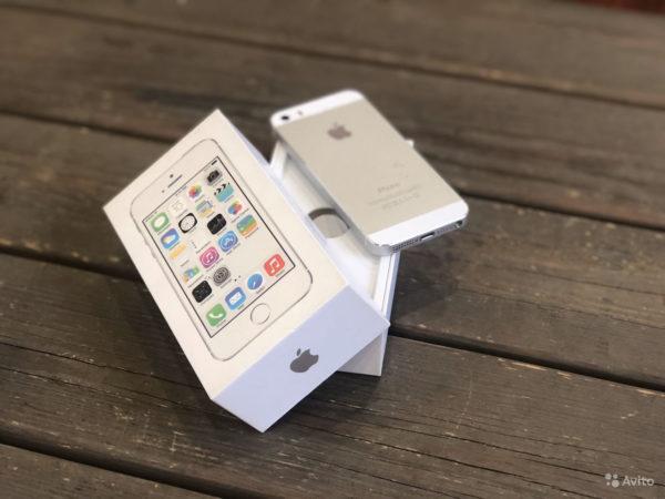 Apple IPhone 5s 16gb Silver (арт.21766)