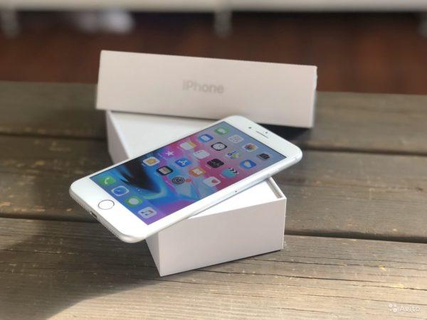 Apple IPhone 8 Plus 64gb Silver (арт.21620)