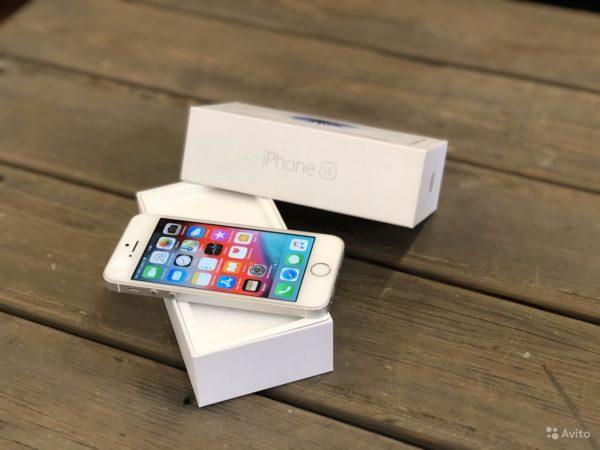 Apple IPhone SE 16gb Silver (арт.21869)