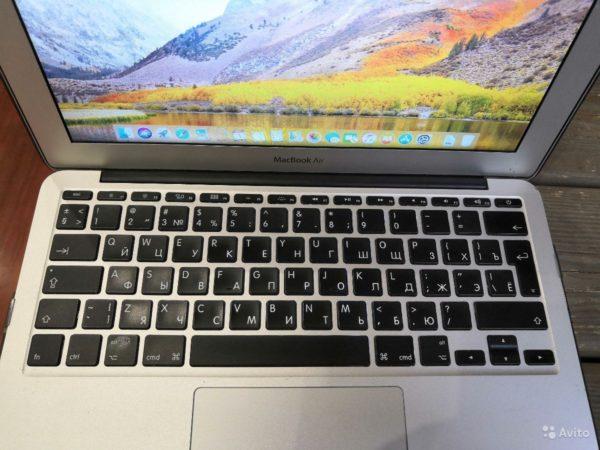 Apple Macbook Air 11 Mid 2012 (арт.21940)