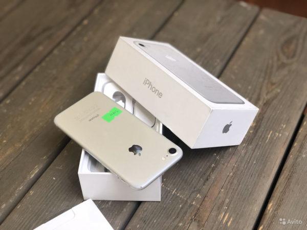 Apple IPhone 7 32gb Silver (арт.21910)