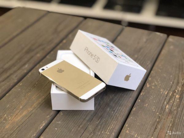 Apple IPhone 5s 32gb Gold (арт.21862)