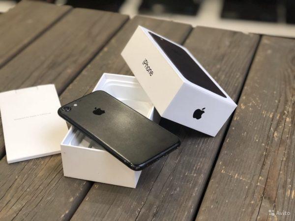 Apple IPhone 7 32gb Black (арт.21882)