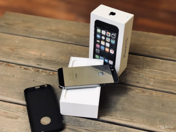 Apple IPhone 5s 16gb SpaceGray (арт.21968)