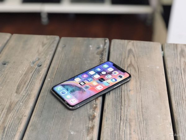 Apple IPhone X 256gb Silver (арт.21990)