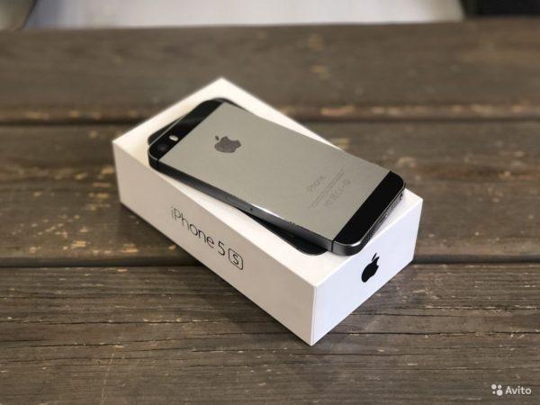 Apple IPhone 5s 16gb SpaceGray (арт.17267)