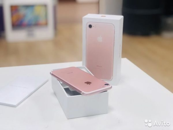 Apple IPhone 7 128gb Rose Gold[No Touch] (арт.22704)