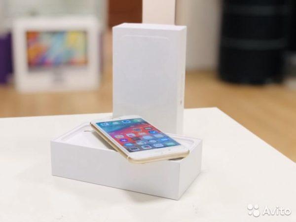 Apple IPhone 6 16gb Gold [RU/A] (арт.22696)