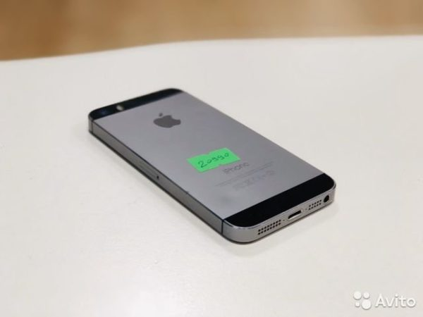 Apple IPhone 5s 32gb SpaceGray[LL/A] (арт.20990)