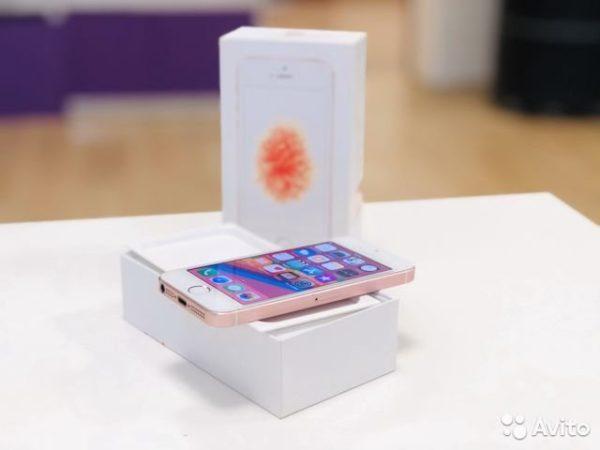 Apple IPhone SE 16gb RoseGold (арт.22773)