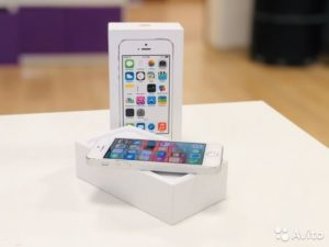 Apple IPhone 5s 16gb Silver (арт.22776)