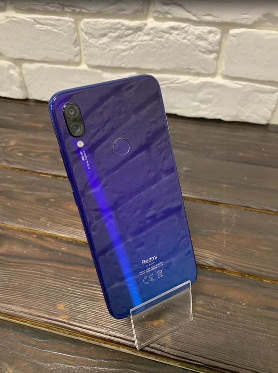 Телефон Xiaomi Redmi Note 7 Blue 6ram/64gb (арт. 28990)