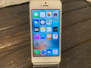 Телефон Apple IPhone 5 16gb Silver (арт. 29512)