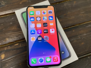 Apple IPhone X 64gb Silver (арт. 29645)