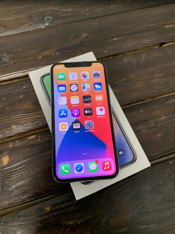 Apple IPhone X 64gb Silver (арт. 29645)