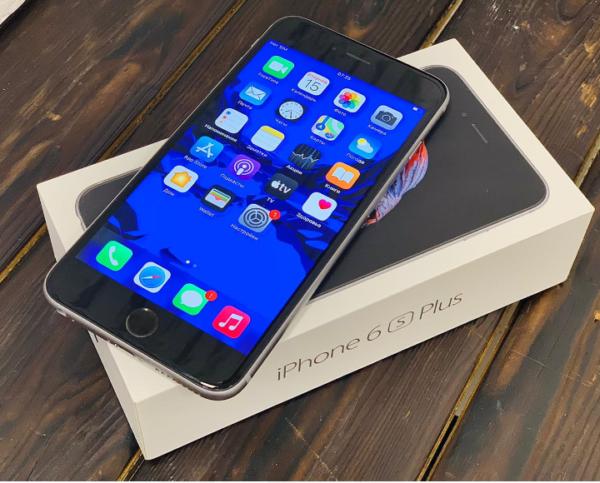 Apple IPhone 6s Plus 128gb SpaceGray Ростест (арт. 30195)
