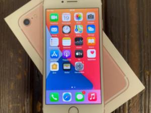 Телефон IPhone 7 32 Rose Gold Ростест (арт. 30221)