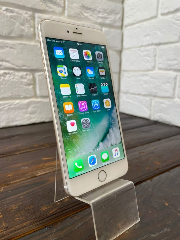 Телефон IPhone 6 Plus 16gb Gold (арт. 31821)