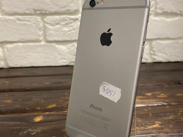 Телефон IPhone 6 16gb SpaceGray (арт. 31751)